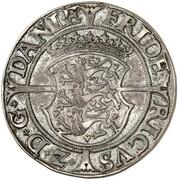 1 Skilling Dansk - Frederik II (Copenhagen mint) – avers