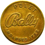Token - Bally Polet – avers