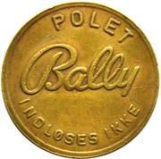 Token - Bally Polet – revers