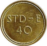 Token - 40 STD-E – avers