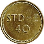 Token - 40 STD-E – revers
