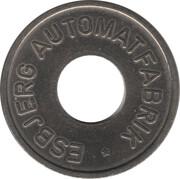 25 Spillemærke - Esbjerg Automatfabrik – avers