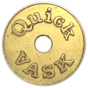 Jeton de lavage automobile - Quick Vask – revers