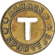 Jeton de transport Aarhus – avers