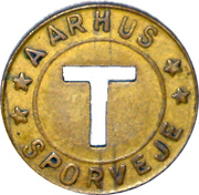 Token - Aarhus Sporveje – avers