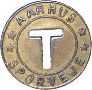Token - Aarhus Sporveje – revers