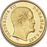 1 Frederik d'Or  - Frederik VI – avers