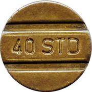 40 STD Telephone Token – avers