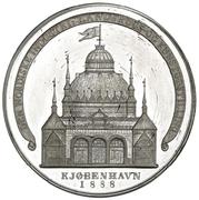 Medal - Nordic Exhibition in Copenhagen – revers