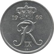 25 øre - Frederik IX -  avers