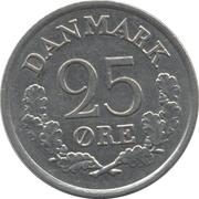 25 øre - Frederik IX -  revers