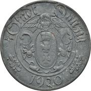 10 pfennig – avers