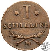 Schilling - François-Joseph Lefebvre – revers