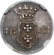 1 Schilling - Marshal Lefebvre (French Occupation Ag) – avers