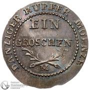 1 Grosz - Friedrich Wilhelm III (Ag) – revers
