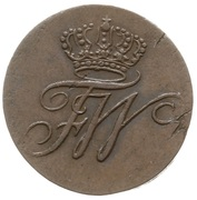 Schilling - Frédéric-Guillaume III de Prusse – avers