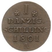 Schilling - Frédéric-Guillaume III de Prusse – revers