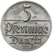 5 pfennig – revers