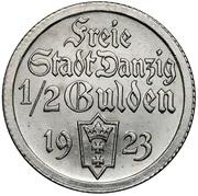 ½ gulden – avers