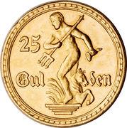 25 gulden – revers