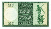 20 Gulden – revers