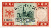 1000 Gulden – avers