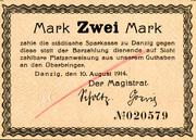 2 Mark – avers