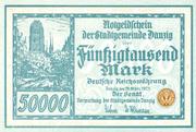 50,000 Mark – avers