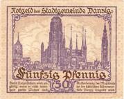 50 Pfennig – revers