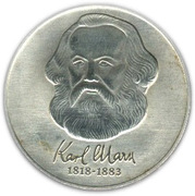 20 marks Karl Marx -  revers