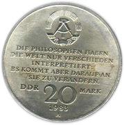 20 marks Karl Marx -  avers