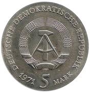 5 marks Johannes Kepler – avers