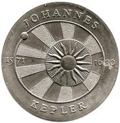 5 marks Johannes Kepler – revers