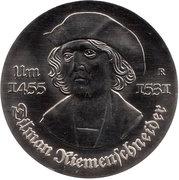 5 Mark (Tilman Riemenschneider) – revers