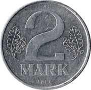 2 mark – revers