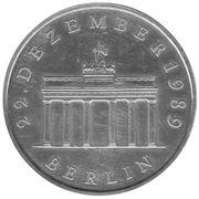 20 Mark Porte de Brandebourg (argent) -  revers