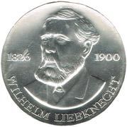 20 Mark (Wilhelm Liebknecht) – revers