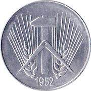 10 pfennig -  avers
