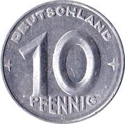 10 pfennig -  revers