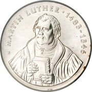 20 Mark (Martin Luther) – revers