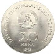 20 Mark (Clara Zetkin) – avers