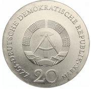 20 Mark (Carl Friedrich Gauss) – avers