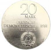 20 Mark (Carl Freiherr vom Stein) – avers