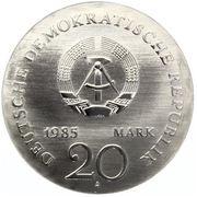 20 Mark (Ernst Moritz Arndt) – avers