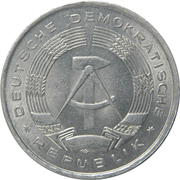 1 deutsche mark -  avers