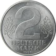 2 deutsche mark -  revers