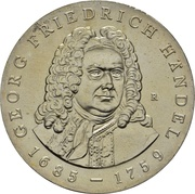 20 Mark (Georg Friedrich Händel) – revers