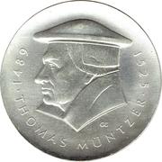 20 Mark (Thomas Müntzer) – revers