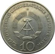 10 marks Mémorial de Buchenwald -  avers