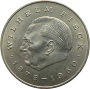 20 marks Wilhelm Pieck -  revers